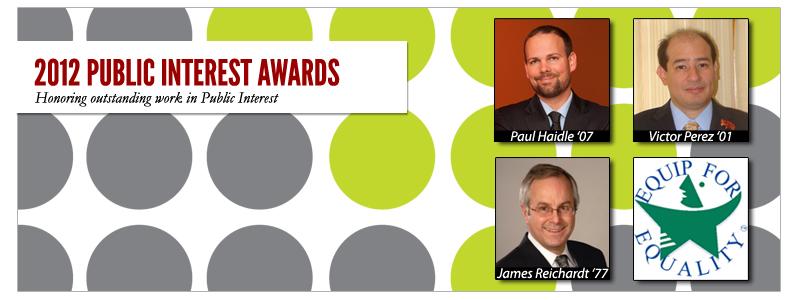 2012 Public Interest Awards